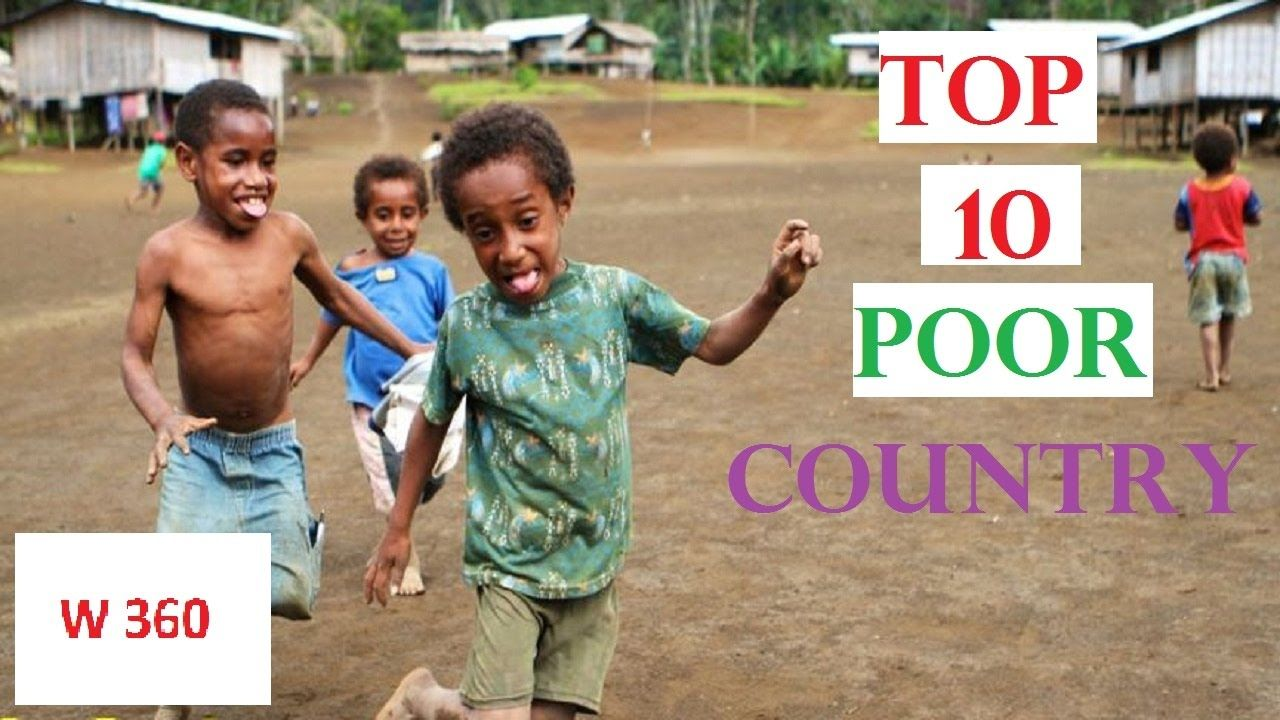 Top Poorest Countries In The World List World Info - Top 10 most poorest countries in the world