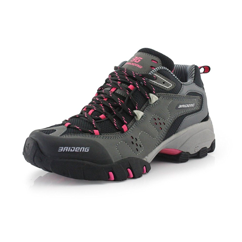 dd4f5ea3a2e Baideng Women's Outdoor Waterproof Mid Trekking Hiking Boot >>> Be ...
