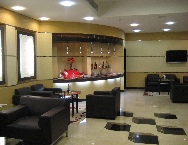 The Al Reem lounge at UAE Abu Dhabi - International Terminal 1