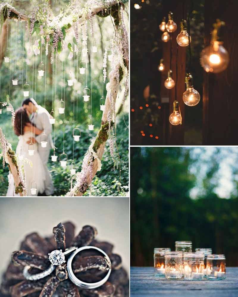 Forest And Woods Decor Ideas For Your Wedding