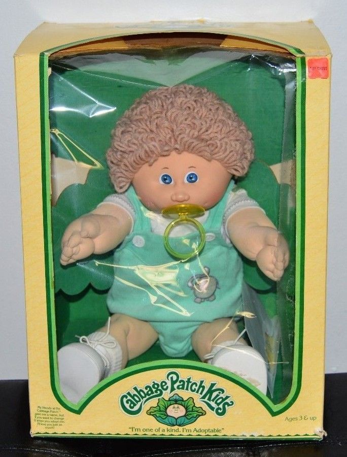 Vtg 1983 Cabbage Patch Kids In Box With Papers Henri Dana Dimples Cabbage Patch Kids Patch Kids Cabbage Patch Dolls