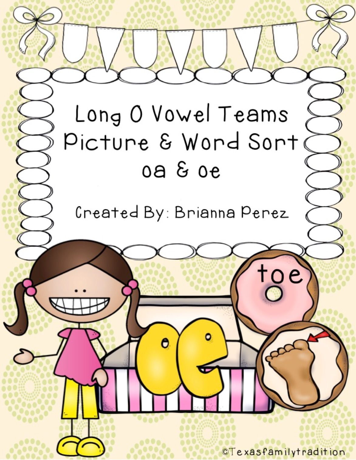 Long O Vowel Teams Picture Amp Word Sort