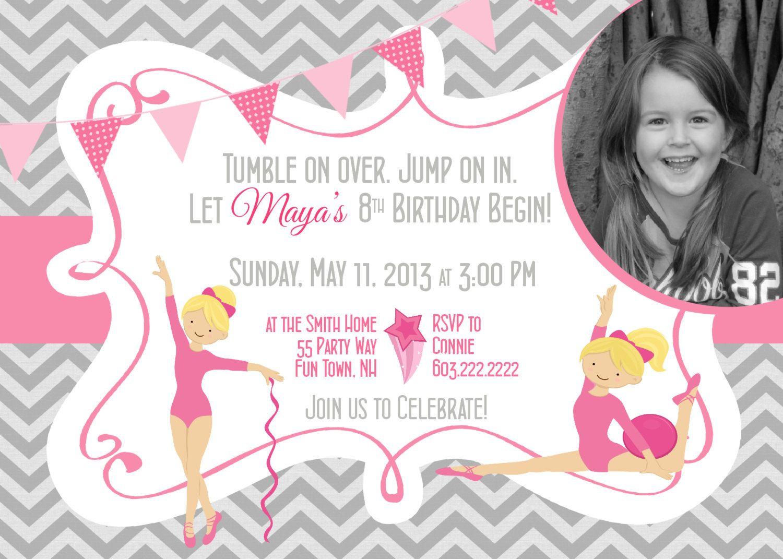 Gymnastics birthday girl invitation by asyouwishcreations4u 1400 gymnastics birthday girl invitation by asyouwishcreations4u 1400 filmwisefo