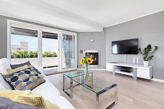 ULLERNÅSEN - Påkostet, endeleilighet med høy standard - 2 terrasser