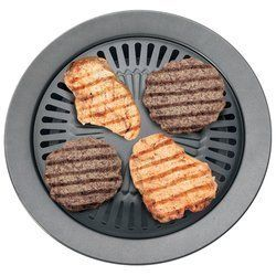 Chefmaster KTGR5 13 Inch Smokeless Stovetop Barbecue Grill