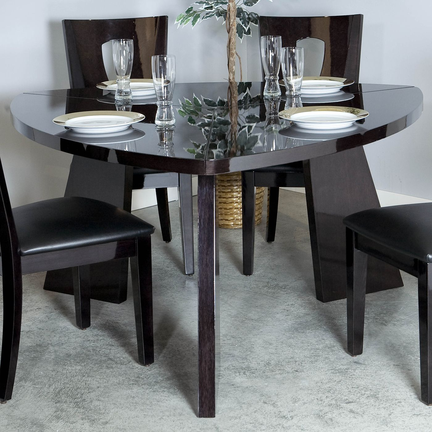 najarian furniture dtari ariana triangle table home furniture showroom