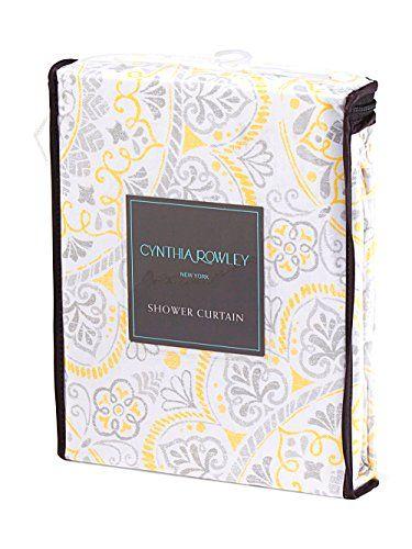 Cynthia Rowley Ornate Medallion Cotton Bland Fabric Shower