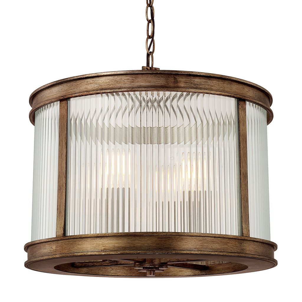 Capital lighting reid collection light rustic pendant brown