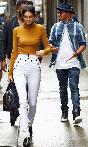 Kendall Jenner And Lewis Hamilton Leave S New York