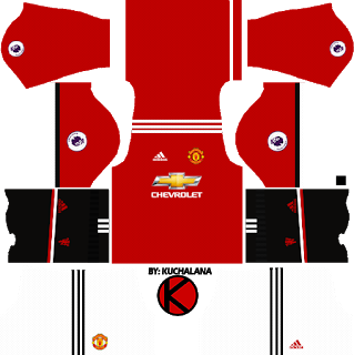 Manchester United Kits 2017 2018 Dream League Soccer Manchester United Home Kit Soccer Kits Manchester United