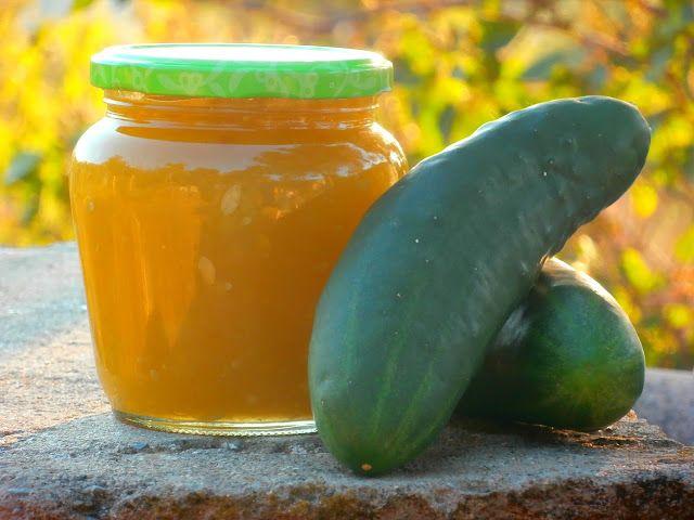 Las recetillas de Isa: Mermelada de pepino