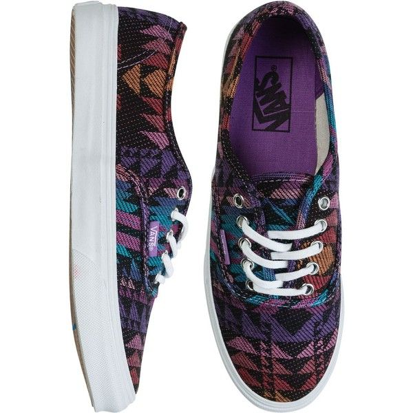VANS Authentic slim shoe ($55) ❤ liked on Polyvore