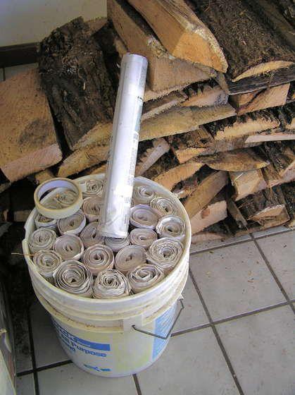 Newspaper Fireplace Logs Fireplace Logs Fire Starters Diy Fire