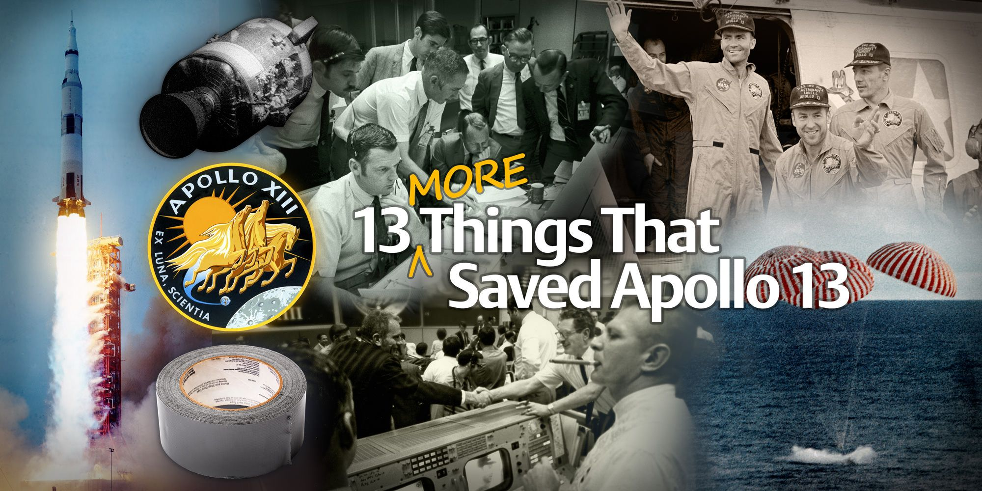 On The Night Of April 13th 1970 When The Oxygen Tank In Apollo 13 S Command Module Exploded A 27 Year Old Engineer Named Jer Apollo 13 Universe Today Apollo