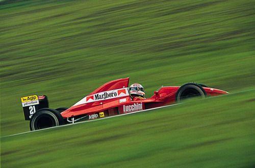 F1 Pictures, Emanuele Pirro Dallara - Judd 1991