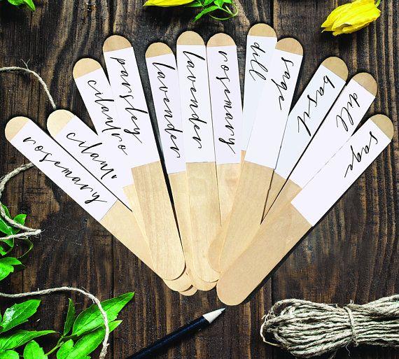 Instant Download Herb Garden Labels Herb Markers Dyi Etsy Garden Labels Herb Labels Garden Labels Diy