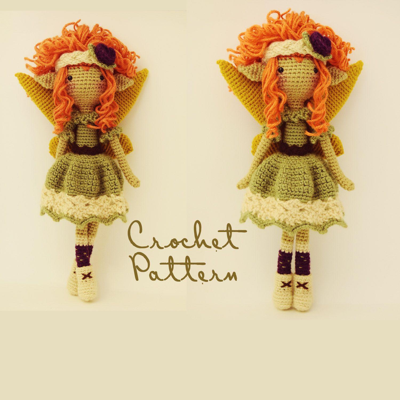 Amigurumi Pattern / Crochet Doll Pattern / Photo Tutorial / Instant ...