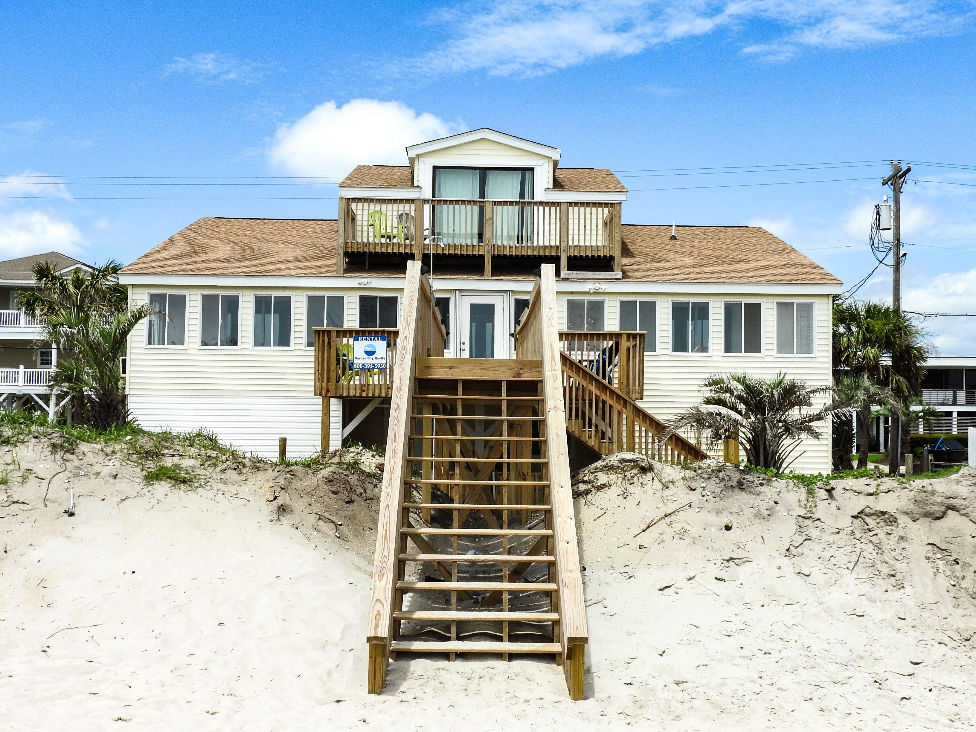 Thomas House is a sevenbedroom, fourbath oceanfront home