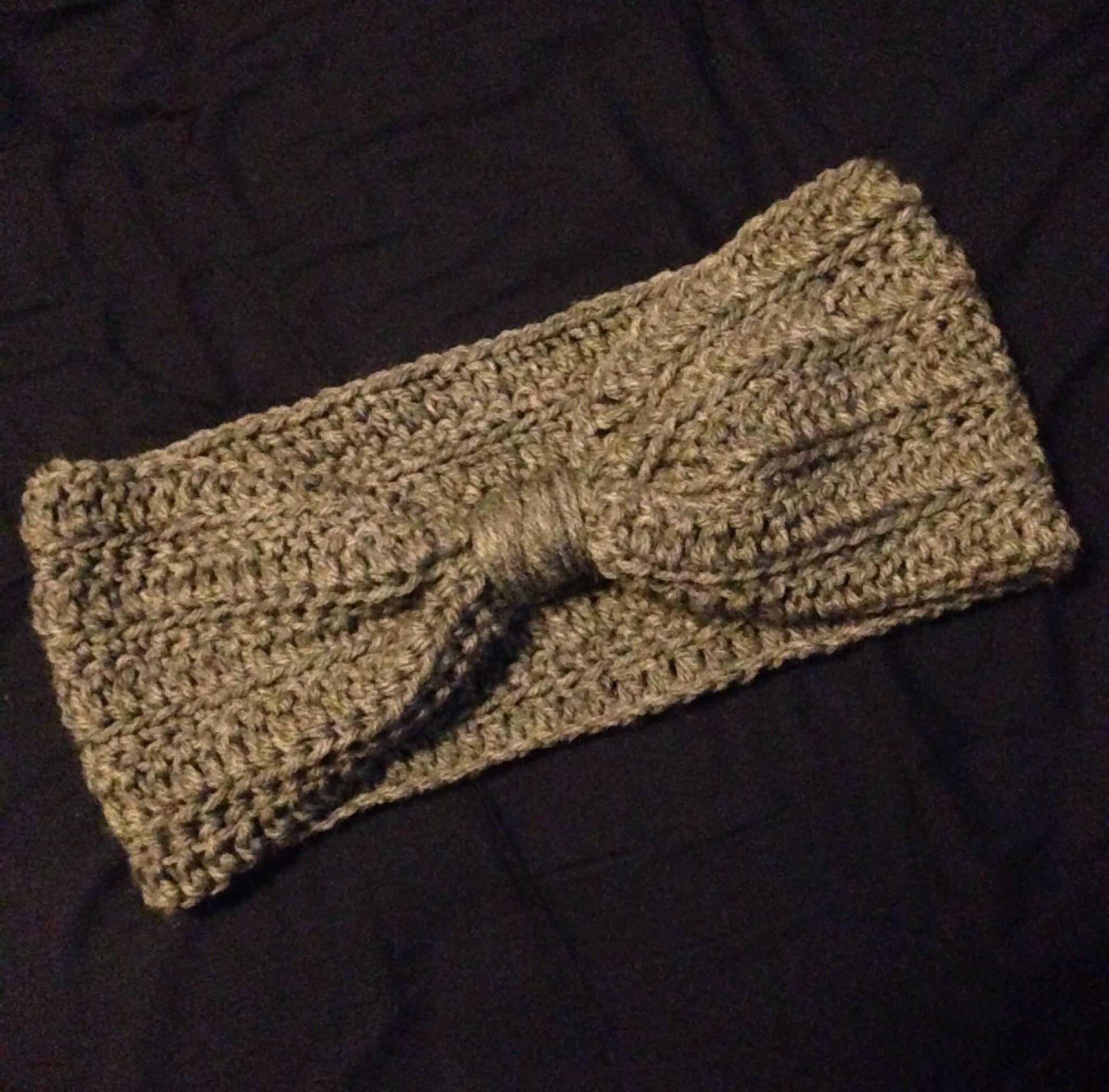 Crochet Ear Warmer | Needlework | Pinterest | Crochet bufanda