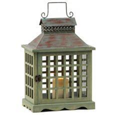 lantern from kirkland | Wood lantern, Ceramic lantern ... on Lanterns At Kirklands id=66744