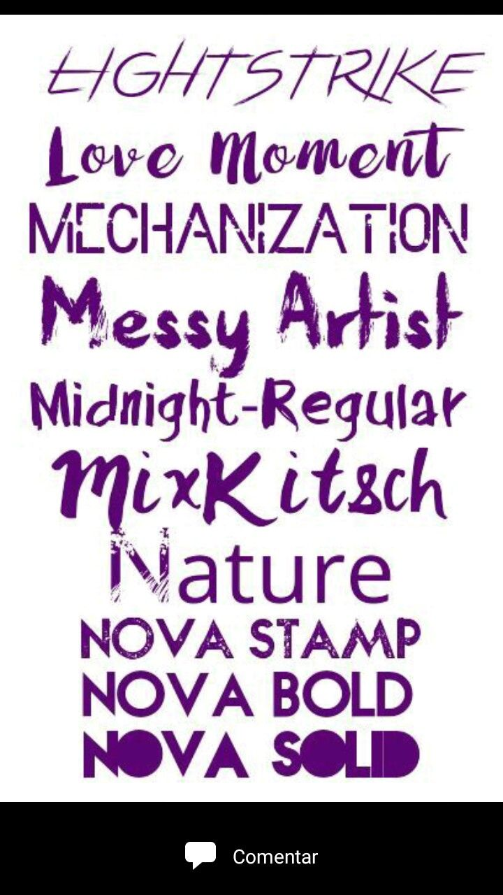 Download Pin by demonmoth on Fonts | Aesthetic fonts, Picsart, Fonts