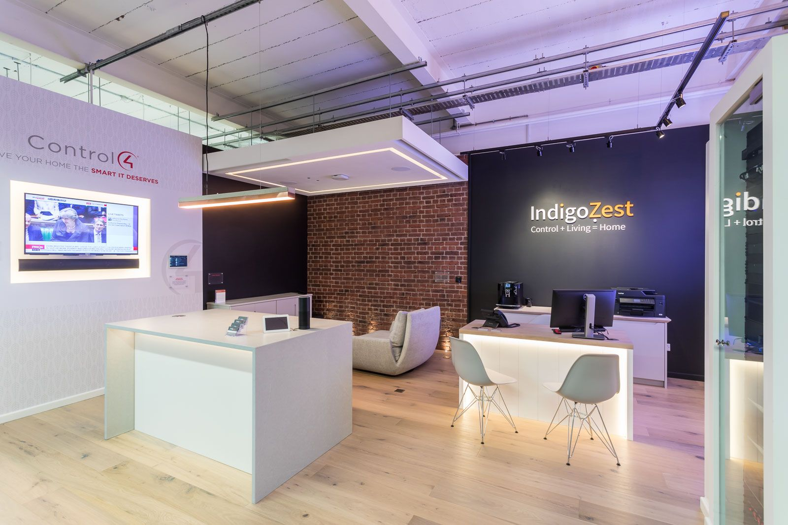 E-home Automation By Design Part - 31: Check Out Our Work For Indigo Zest U2013 A Home Automation Supplier With A 500  Sq
