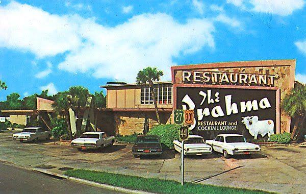 the brahma restaurant ocala florida 1965 real florida