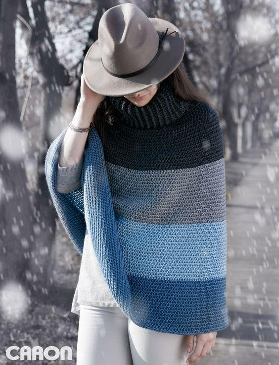 Crochet Cape Pattern Will Be A New Favourite | Pinterest | Stricken ...