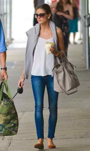 Olivia Palermo #casual #style