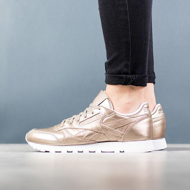 c2204b77f766c Damen Schuhe sneakers Reebok Classic Leather Melted Metal BS7898 ...
