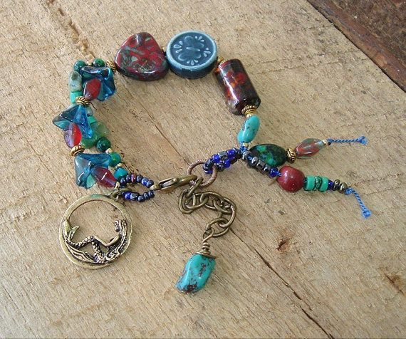 boho jewelry | Boho Bracelet Southwest Jewelry Bohemian Style Boho by ... | Bead Wor ...