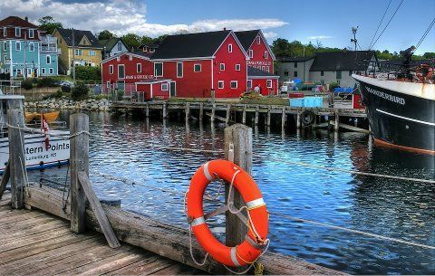 Lunenburg Nova Scotia Canada Happened To Be There When The
