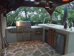 une cuisine d'extérieur, est-ce un luxe? la cuisine de jardin ... - Amenager Une Cuisine Exterieure