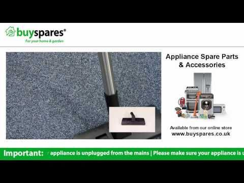 How to choose the right floor tools for your vacuum cleaner, BuySpares 'how to videos'.