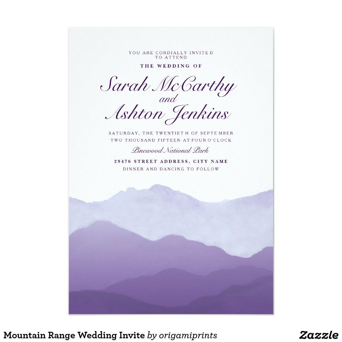 41++ Zazzle mountain wedding invitations ideas in 2021