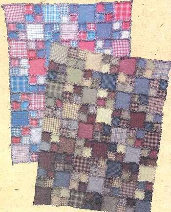 Rag Quilting Pattern Rag Quilt Patterns Shaggy Rag Quilts