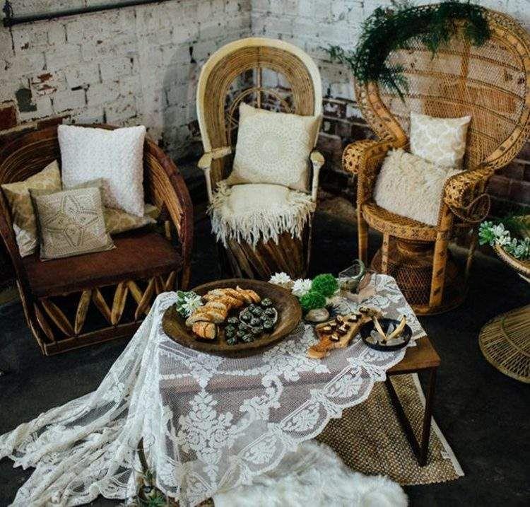 Ideen Für Balkon Deko Im Romantischen Boho Chic Stil