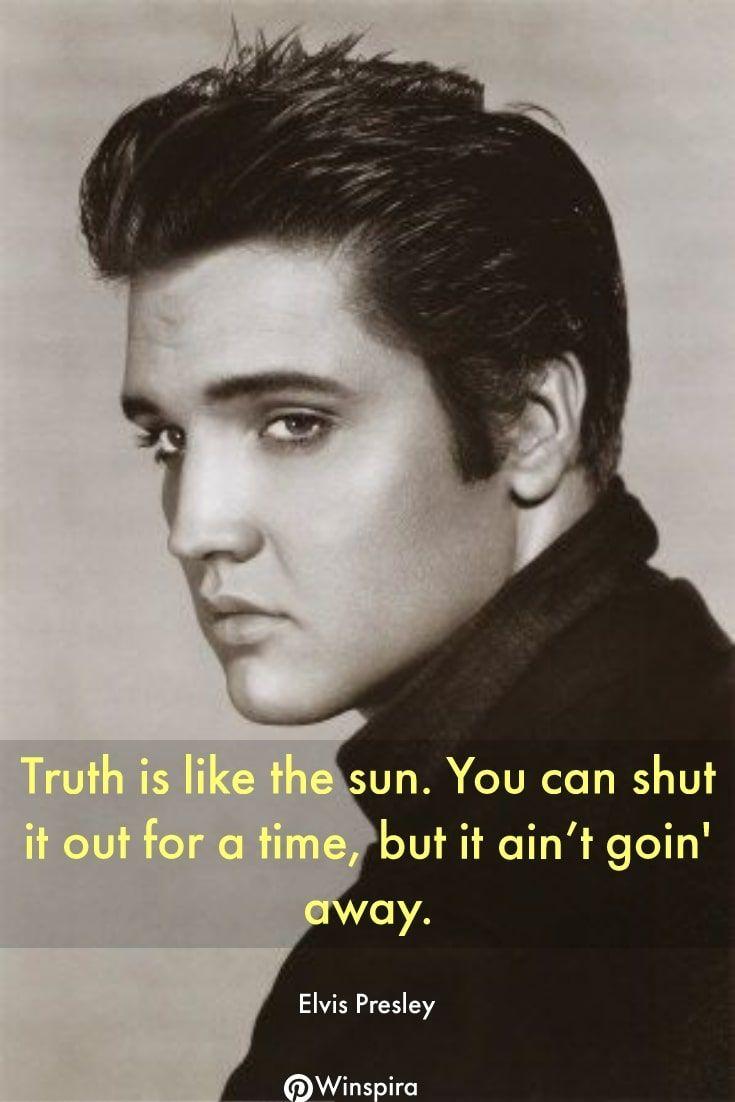 28 Best Elvis Presley Quotes