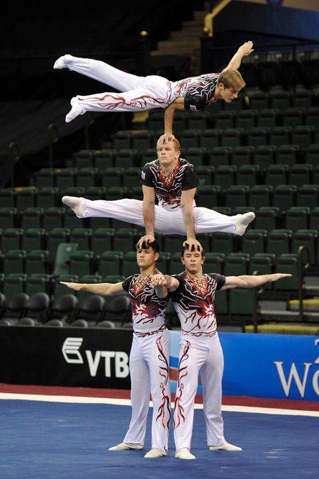 Men's Four | Gimnastas, Acrosport y Gimnasio