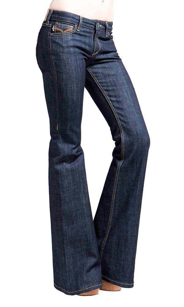 67198b37cb88 Women s Flare Jeans, Wide-Leg, Bell Bottom Jean - Rinse Wash ...
