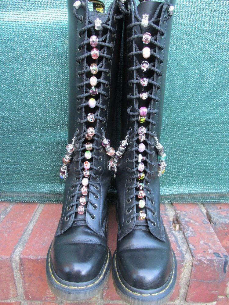 Dr Martens 20 hole beads \u0026amp; charms