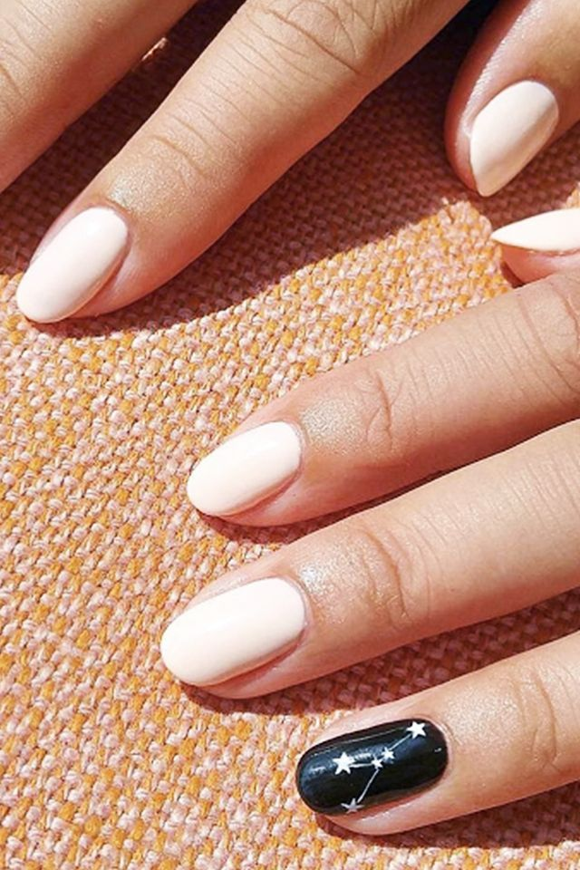 Why paint your nails exclusively black or white when you can bedeck ...