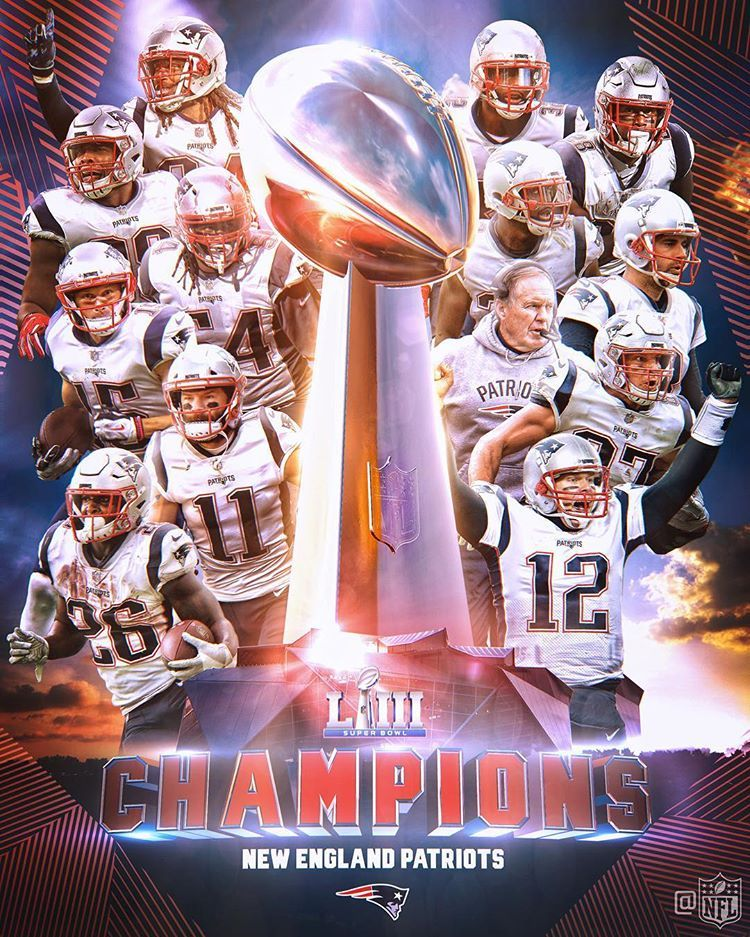 The Patriots Are Super Bowl Champions Sbliii Patriots New England Patriots Football New England Patriots