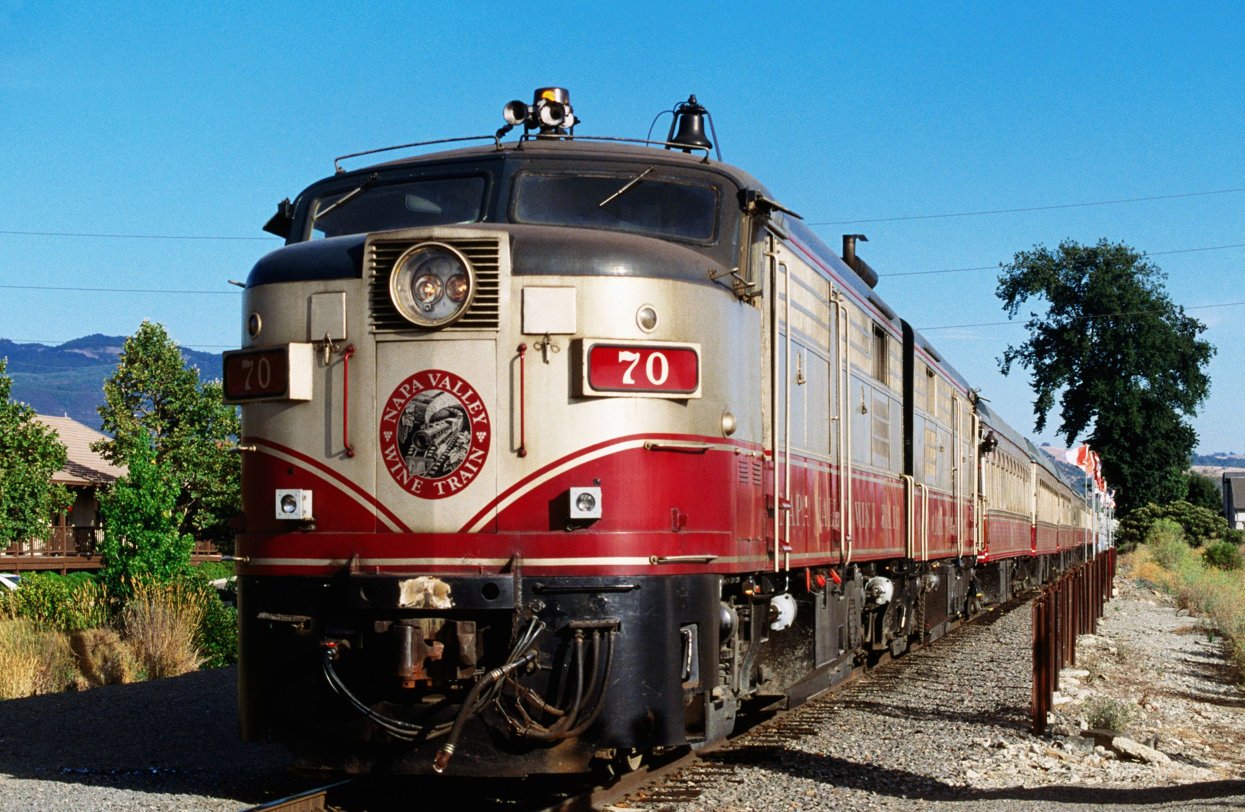 9 Of The Most Scenic Train Rides Across America Napa Valley Wine Train Wine Train Scenic Train Rides
