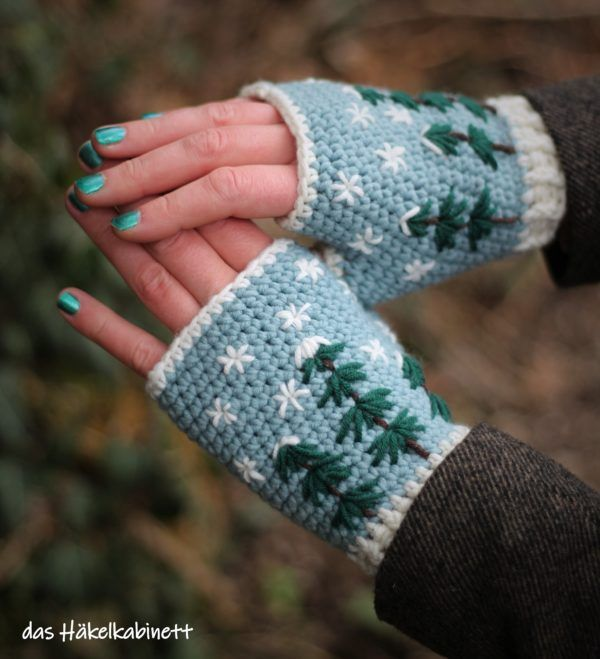 Photo of Fingerlose Handschuhe – HANDMADE Kultur