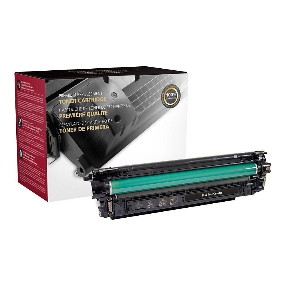 Clover Technologies Group 200941p Hp 508a Cf360x High Yield Remanufactured Black Toner Cartridge Toner Cartridge Technology School Shopping
