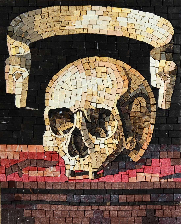 Mosaic Wall Art - Gothic Mosaic Artwork | Mozaico