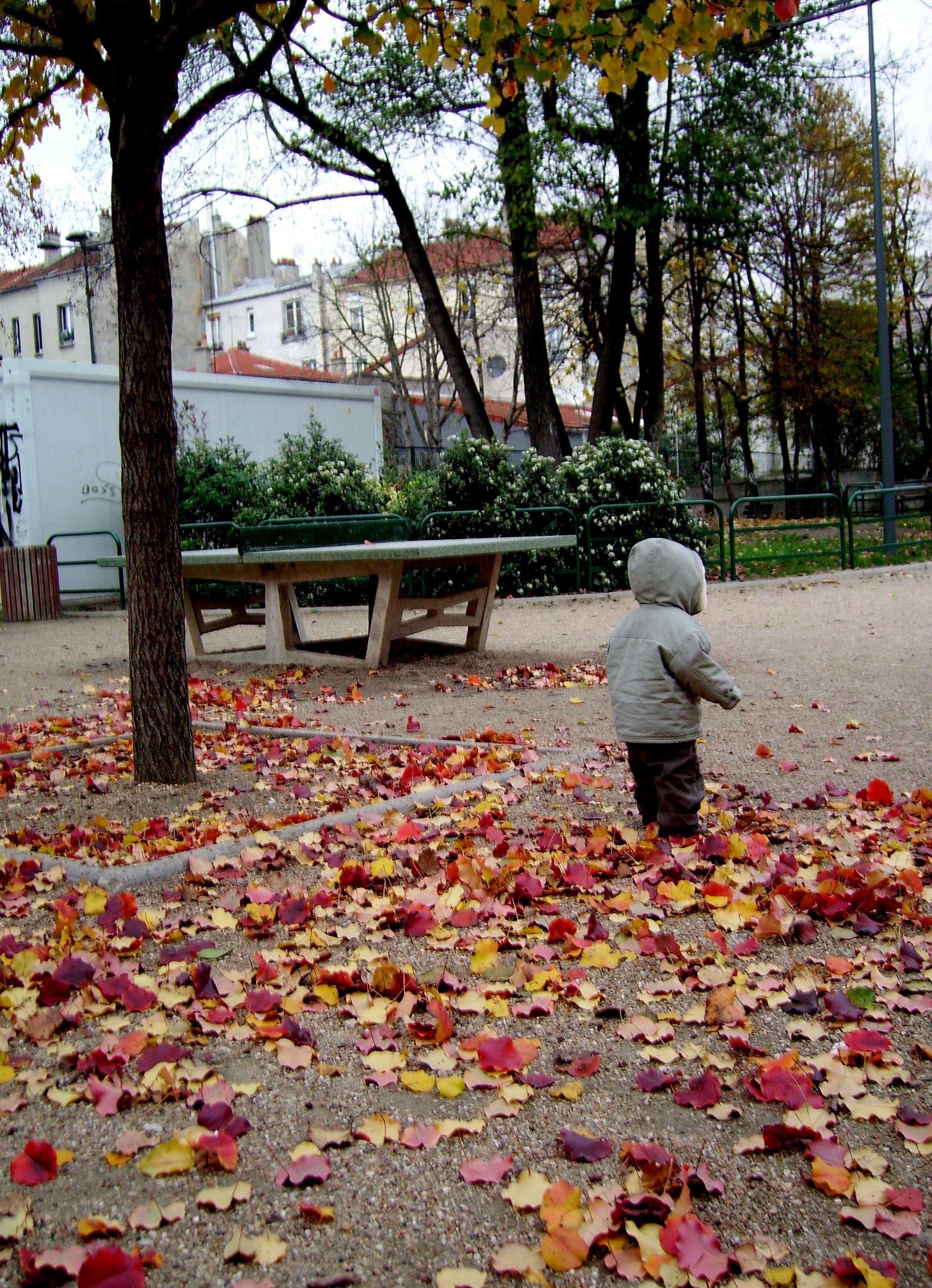 enfant d'automne