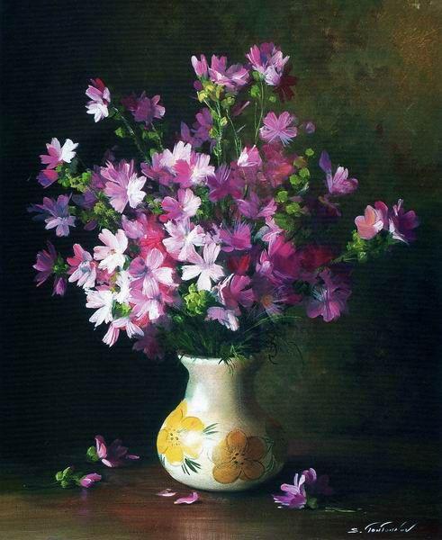 By Russian Artist Serguei Toutounov Art Floral