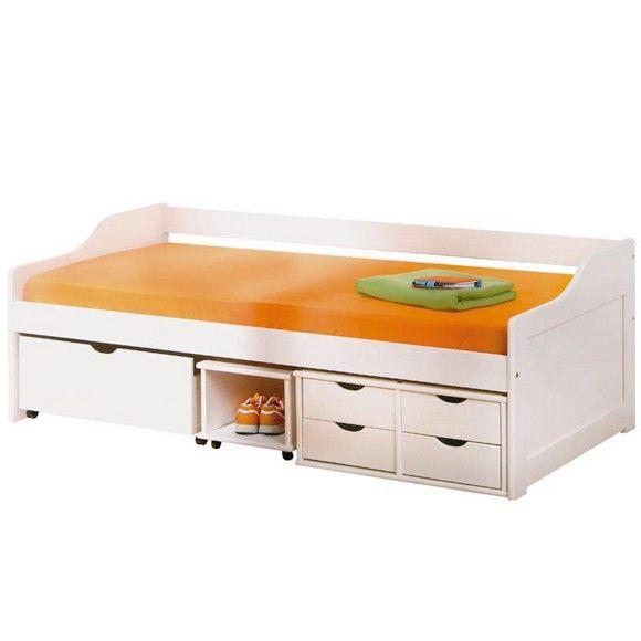 BETT Kiefer massiv 90/200/ cm Betten für kinder, Bett